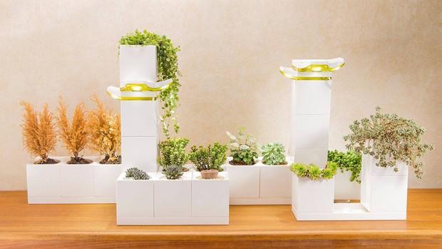 Designers criam vasos que encaixam como LEGO (Foto: Divulgação)