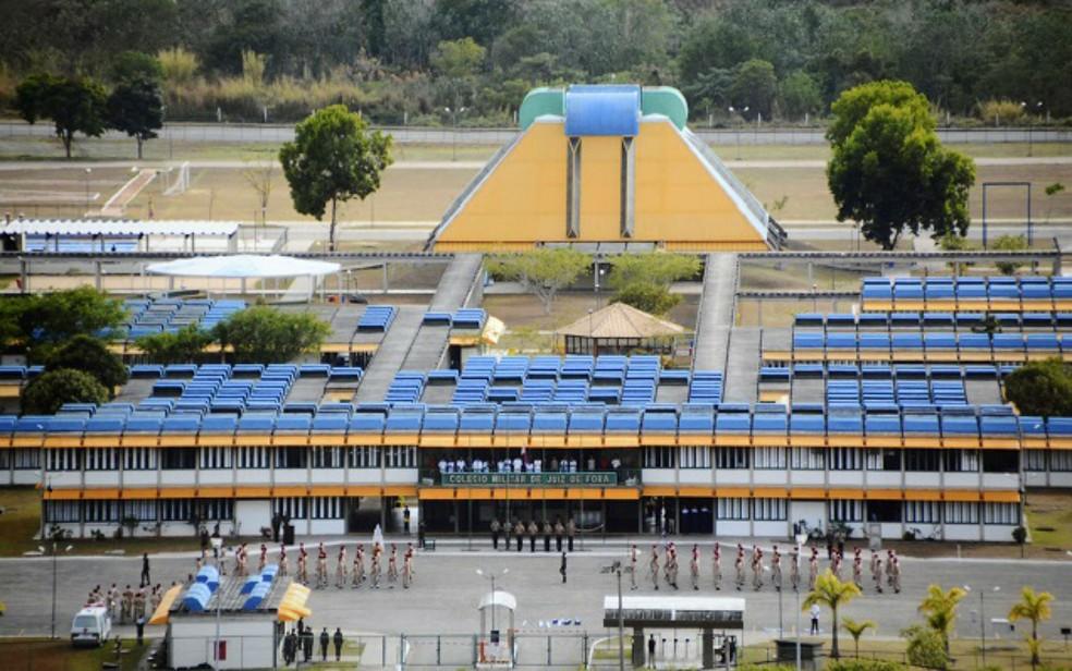 Caso de bullying ocorreu no Colégio Militar de Juiz de Fora (Foto: Valéria Souto/Divulgação)