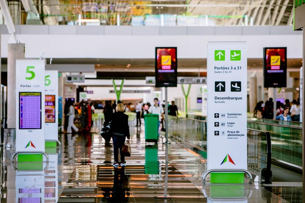 Aeroporto Internacional de Brasília (Foto: Felipe Menezes/Inframérica/Divulgação)