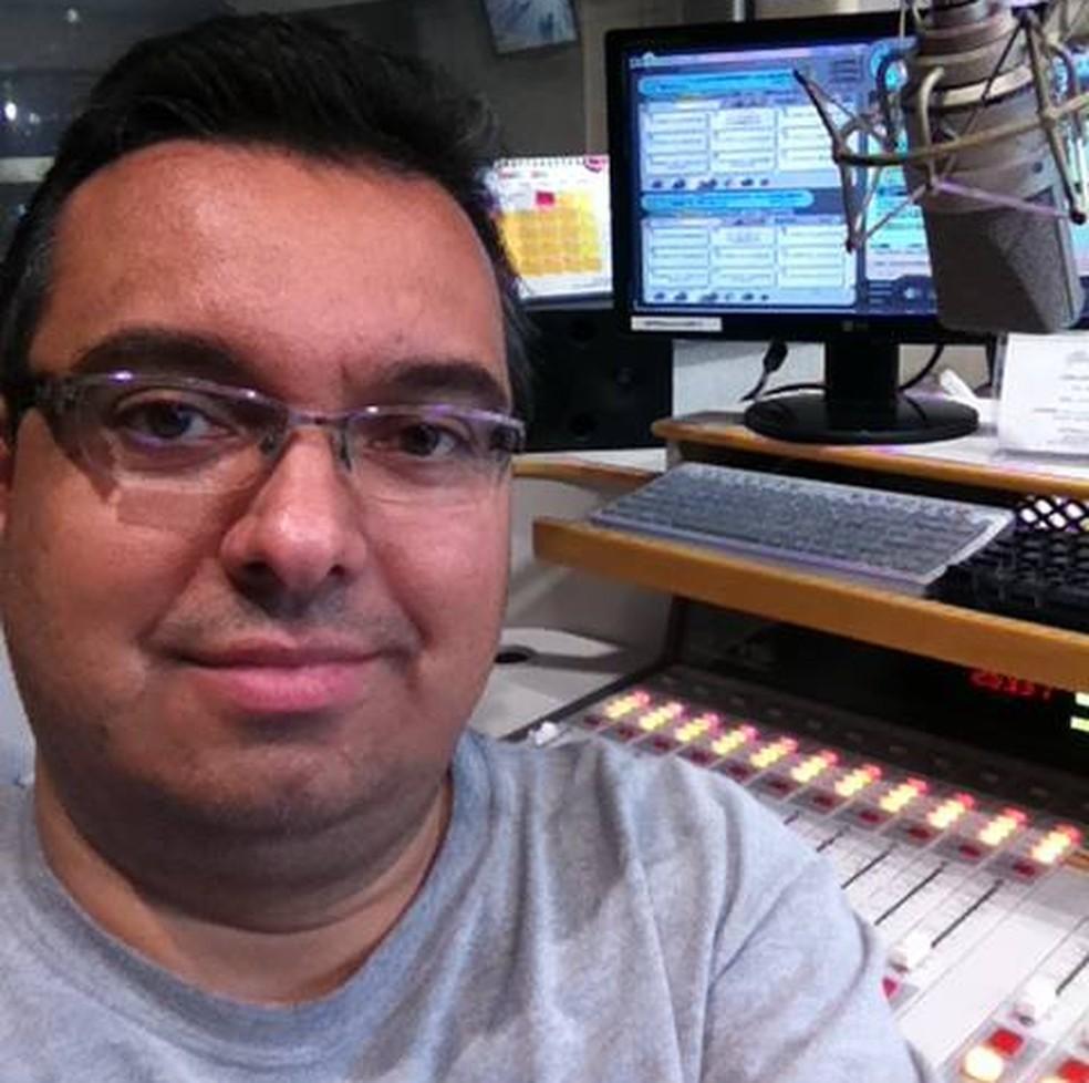 Vítima era conhecida em rádios da capital e do interior de São Paulo (Foto: Arquivo pessoal)