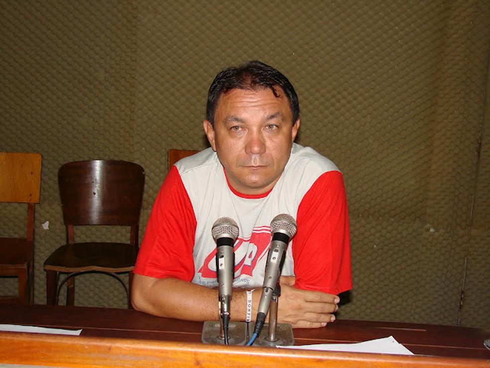 Radialista F. Gomes foi morto em 2010, em Caicó — Foto: Paulo Júnior/Cedida