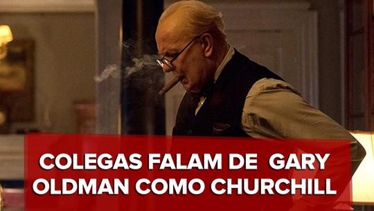 'Ele me deixava pasmo', diz diretor de 'O destino de uma nação' sobre Gary Oldman no papel de Churchill