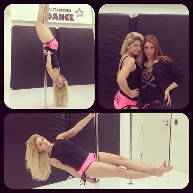 Antônia Fontenelle faz pole dance (Foto: Instagram/ Reprodução)