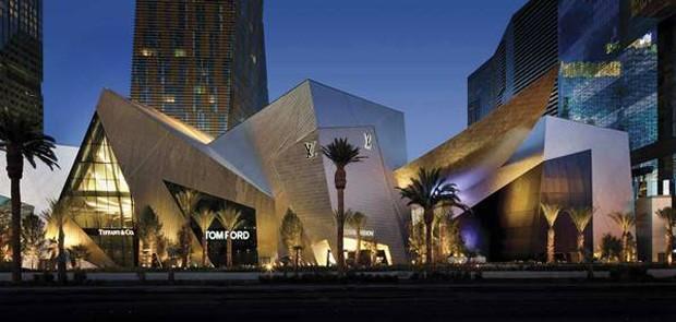Shopping Shops at Crystals, em Las Vegas (Foto: Las Vegas Sun/Reprodução)