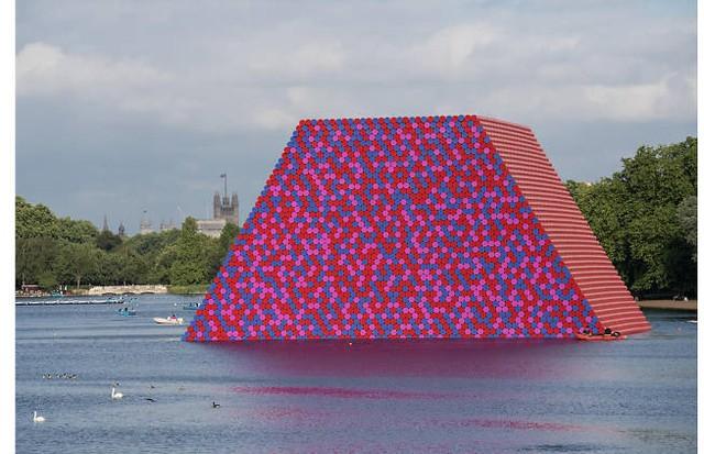 Instalação de Christo & Jeanne-Claude (Foto: Divulgação)