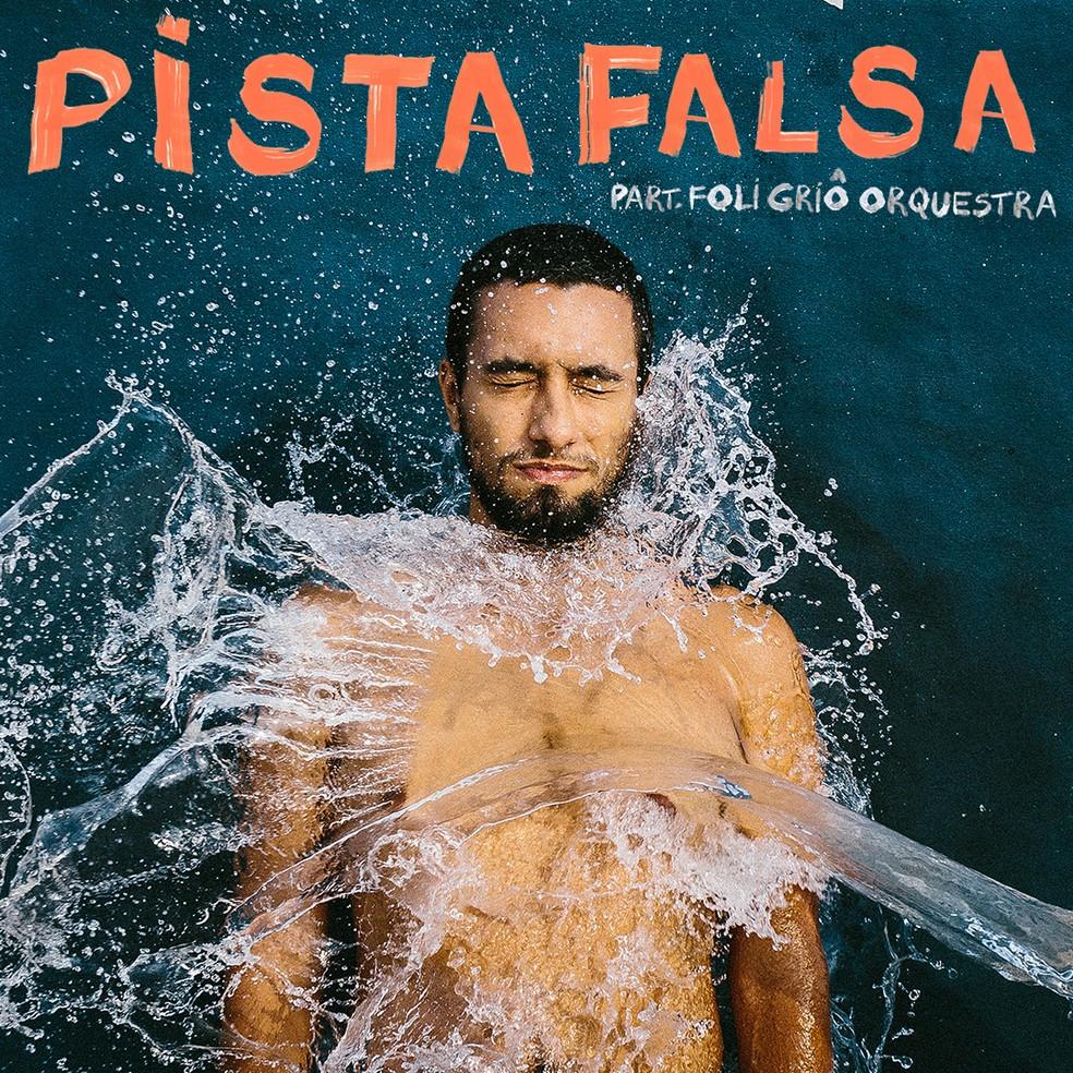 Capa do single 'Pista falsa', de Victor Seixas com Foli Griô Orquestra — Foto: Divulgação
