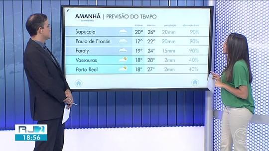 Frente fria se afasta da região, mas temperaturas continuam baixas no Sul do Rio