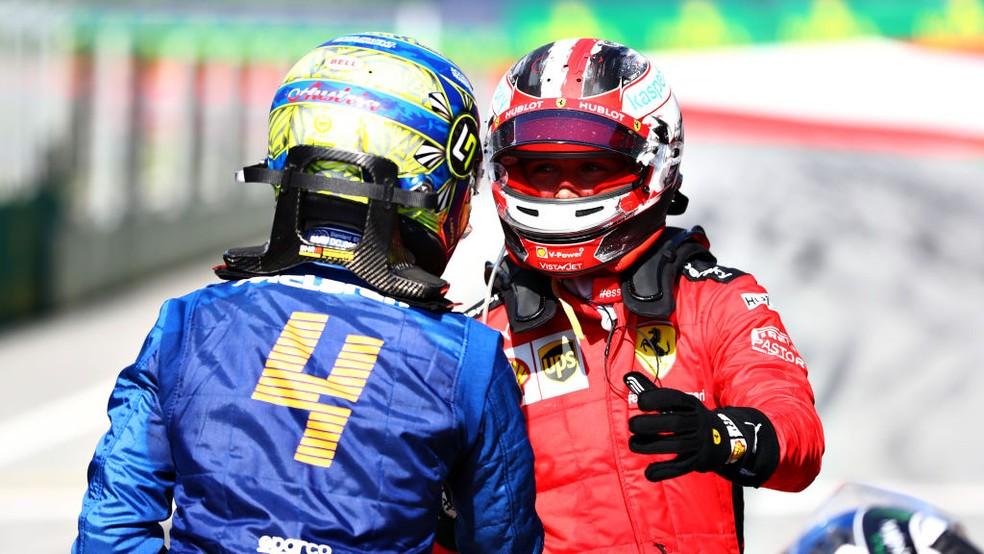 Punições a Norris e Leclerc alteram grid de largada do GP da ...