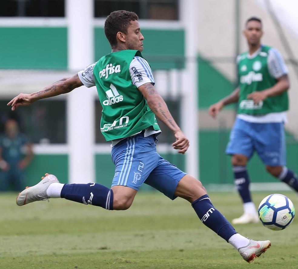 Marcos Rocha será contratado em definitivo pelo Palmeiras - contrato até 2022 — Foto: César Greco / Ag. Palmeiras / divulgação
