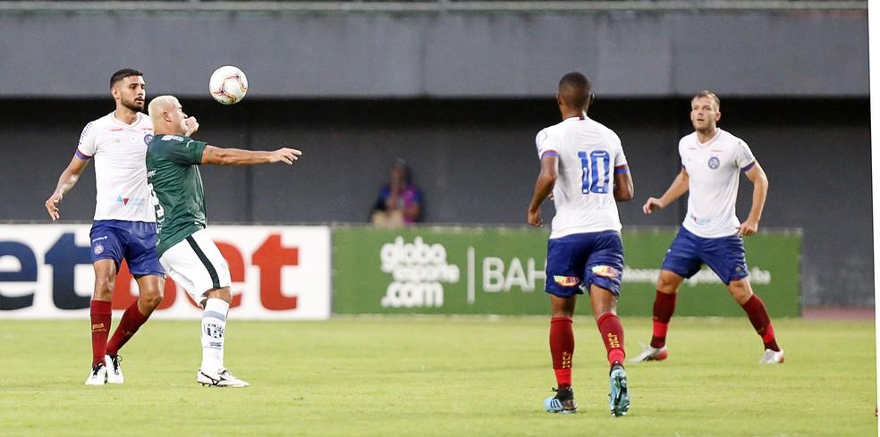 Ramon foi titular nos três jogos disputados pelo time de aspirantes do Bahia — Foto: Felipe Oliveira / EC Bahia / Divulgação