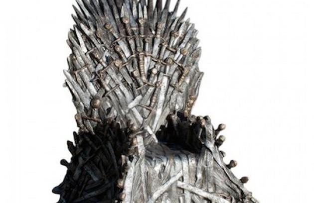 A réplica do trono de 'Game of thrones' é para poucos: custa US$ 30 mil  (Foto: Reprodução da internet)