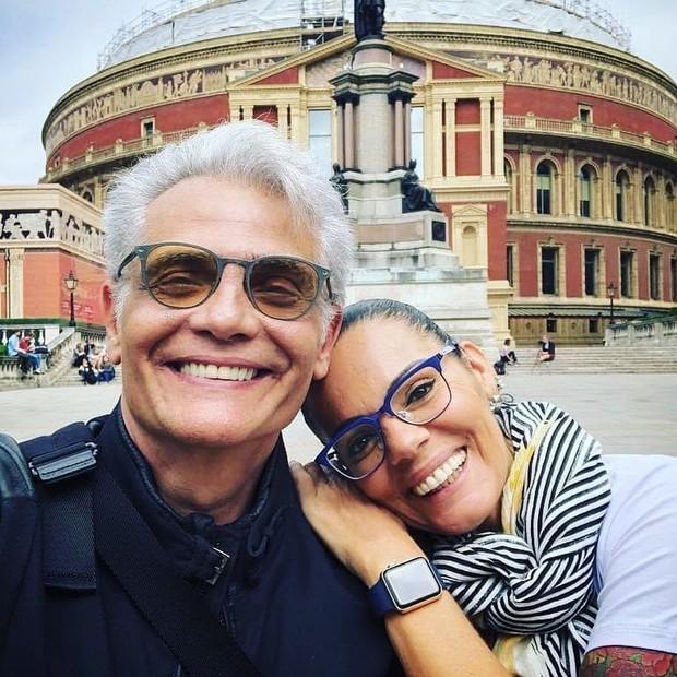 Mocita Fagundes com Tarcísio Filho (Foto: Reprodução/Instagram)
