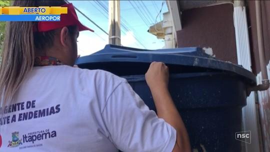 Itapema realiza força-tarefa após o registro de 7 casos autóctones de dengue