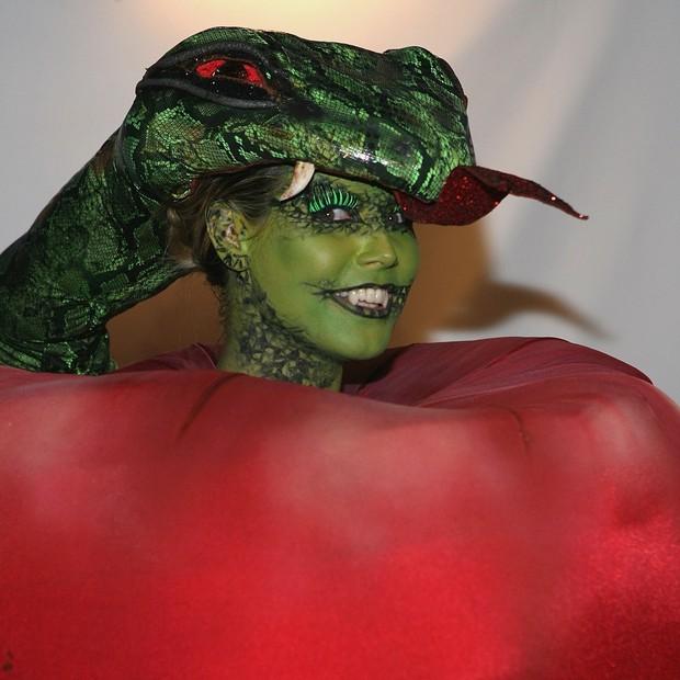 Heidi Klum de maçã proibida (Foto: Getty Images)
