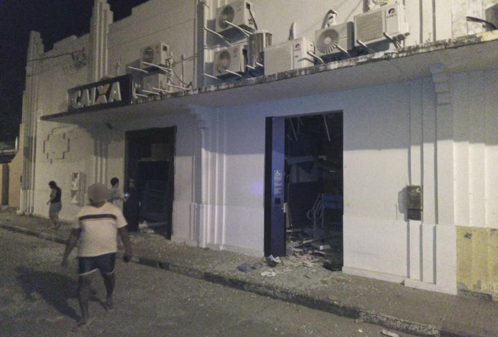 Agência fica localizada no centro da cidade — Foto: Crisney Souza Dias/Site +BN