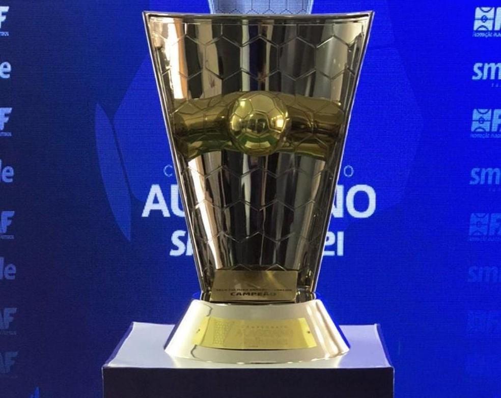 Taça do Alagoano de 2021 estará em jogo neste sábado — Foto: ASCOM Federação Alagoana