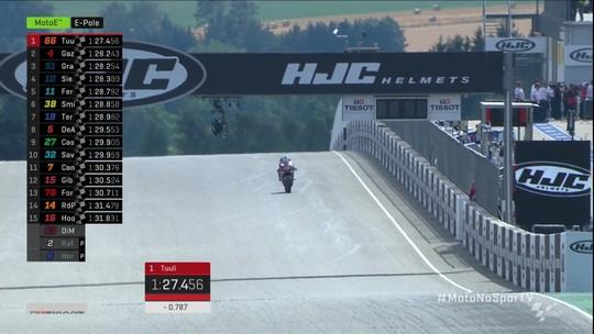Niki Tuuli conquista pole da etapa da Alemanha de MotoE no Mundial de Motovelocidade
