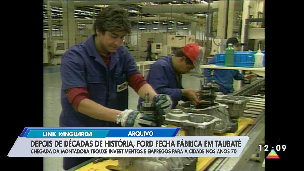 Motores de Taubaté para o mundo: reveja a trajetória da fábrica da Ford na cidade