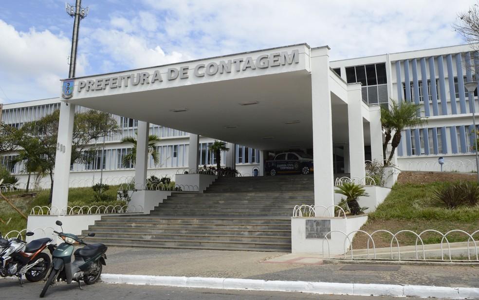 Fachada da Prefeitura de Contagem — Foto: Elias Ramos/Prefeitura de Contagem