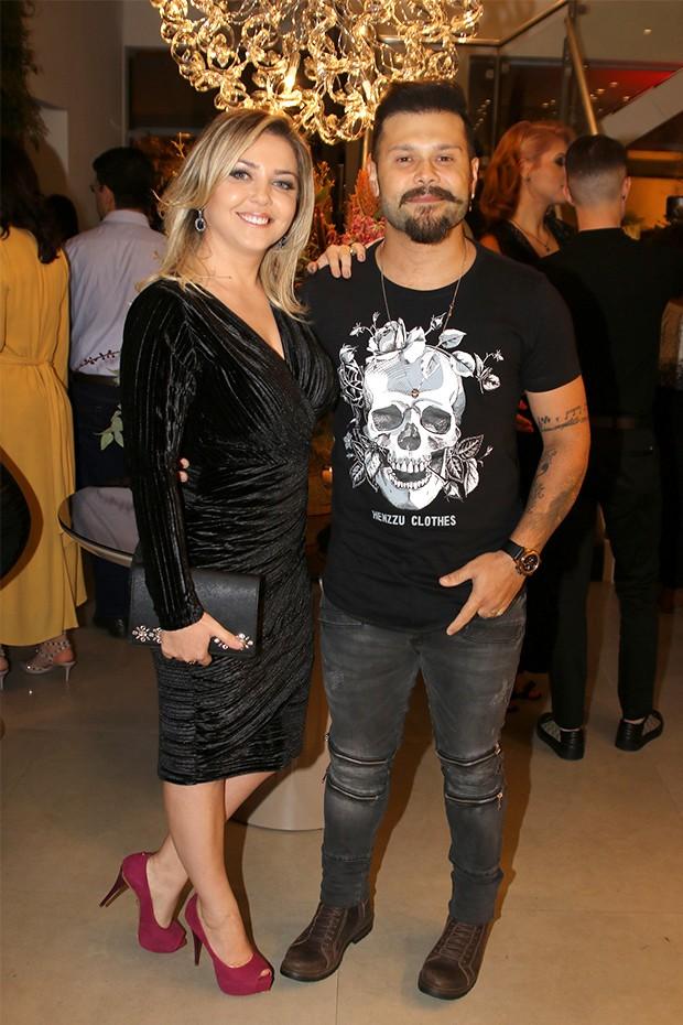Marcos e Lu Marchioto (Foto: Thiago Duran/AgNews)