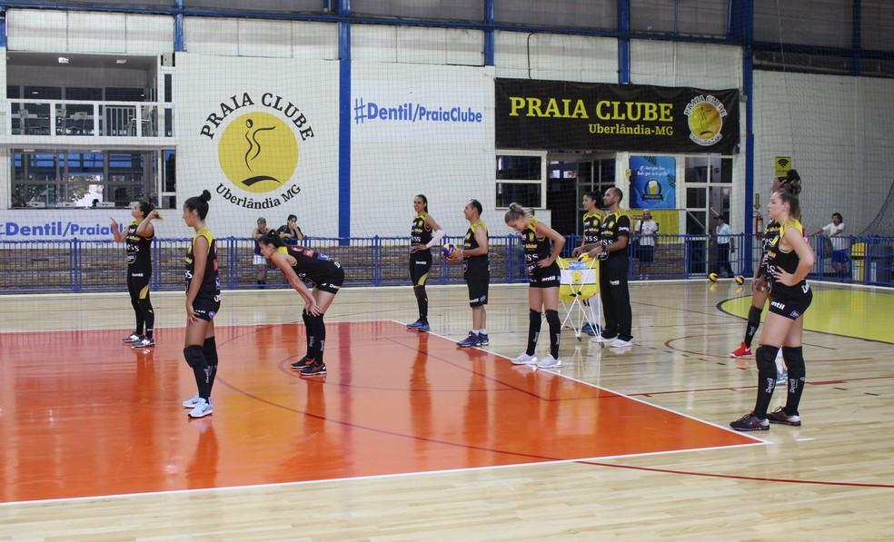 56b59102d ... Praia Clube faz dois amistosos com o Brasília — Foto  Divulgação Praia  Clube