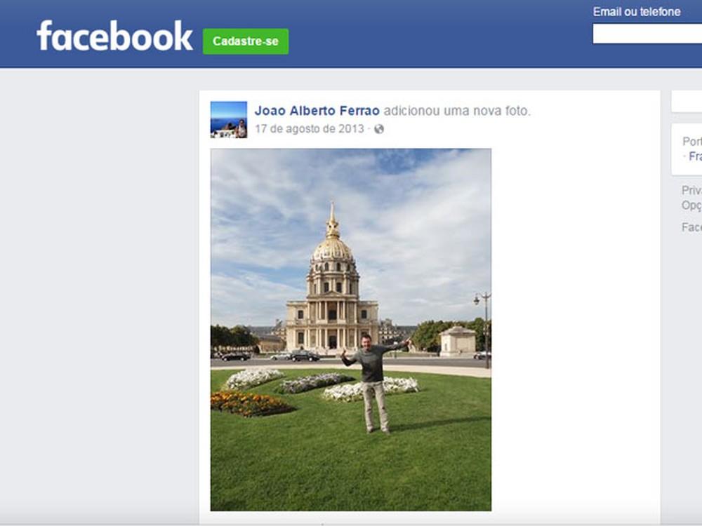 João Ferrão era casado com Renata Ferrão (Foto: Reprodução/Arquivo Pessoal/Facebook)