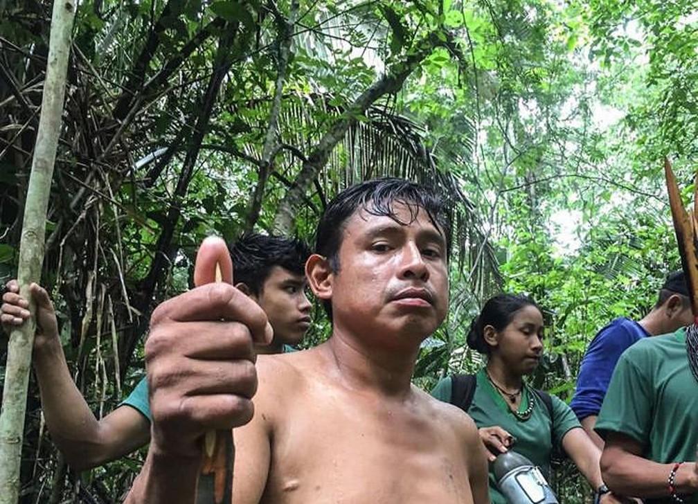 Ari Uru-eu-wau-wau foi encontrado morto em RO — Foto: Reprodução/Kanindé