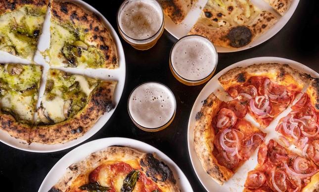 Pizzas da Sotto