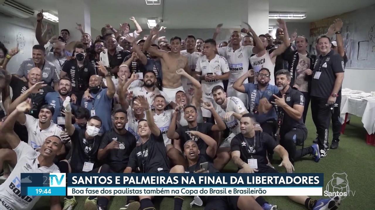 Palmeiras e Santos vão decidir a Libertadores no dia 30 de janeiro