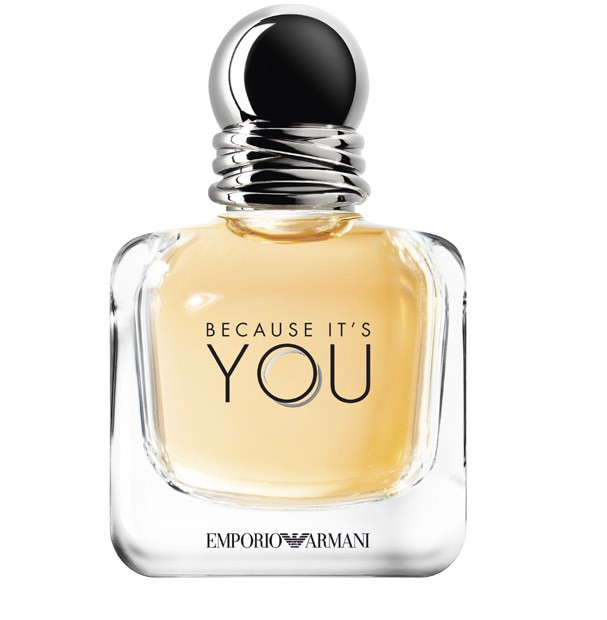 Emporio Armani, ''Because It's YOU'', R$ 379