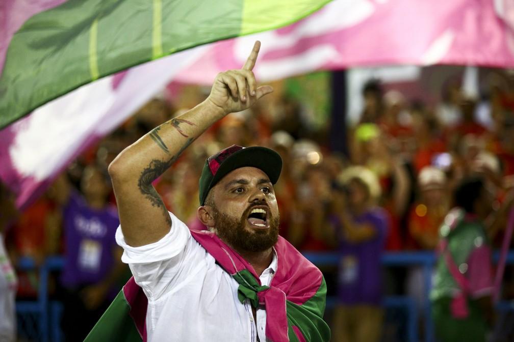 Leandro Vieira, carnavalesco da Mangueira — Foto: Gabriel Nascimento/ Riotur