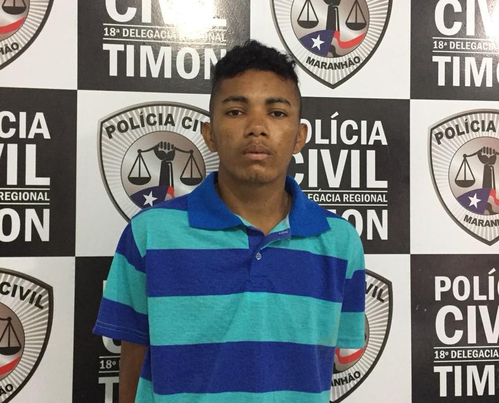Ismael da Silva foi preso em casa após ter rompido a tornozeleira eletrônica em Timon.  (Foto: Divulgação/Polícia Civil)