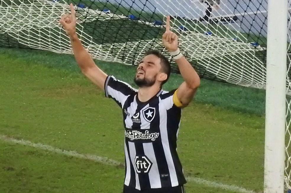 Rodrigo Pimpão atuou pelo botafogo em cinco temporadas — Foto: Fred Gomes