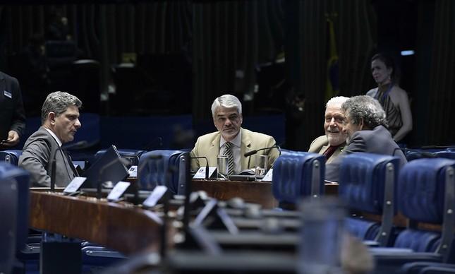 Senadores petistas