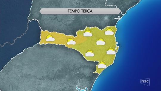 Com amanhecer gelado, Serra de SC tem segundo dia consecutivo com temperatura mínima de -3°C