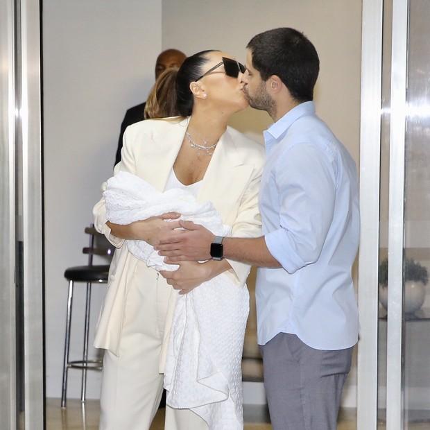 Sabrina Sato deixa Maternidade com sua filha (Foto: Manuela Scarpa/Brazil News)