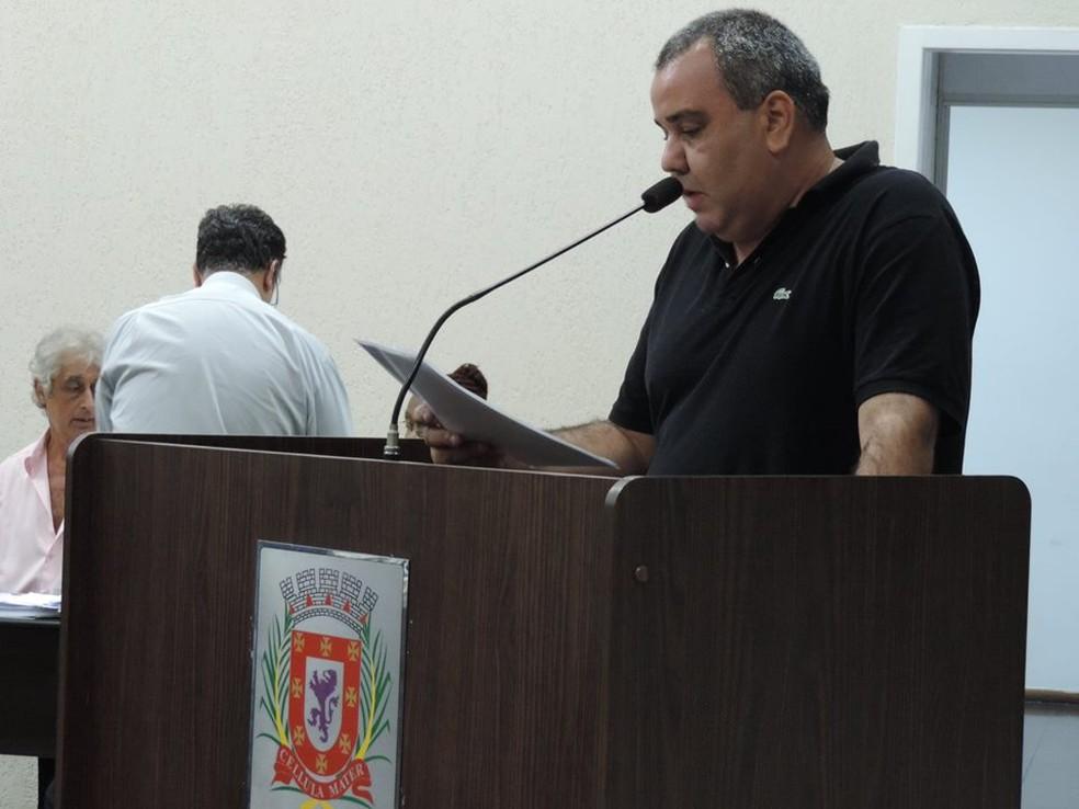 José Eduardo é vereador em São Vicente, SP (Foto: Arquivo Pessoal)