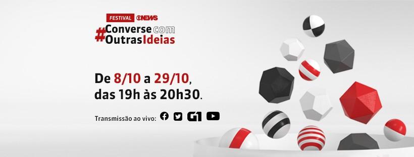Acompanhe o festival #ConverseComOutrasIdeias - dia 3