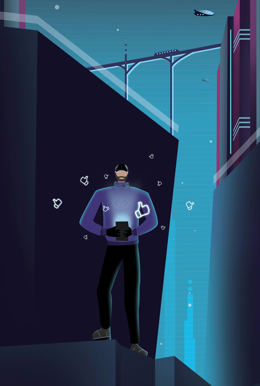 Tech-free (Foto: Ilustração: Matheus Aguiar)