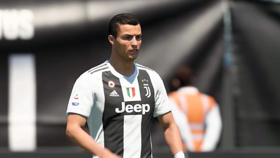 Cristiano Ronaldo segue sendo o melhor centroavante do FIFA 20 — Foto: Reprodução