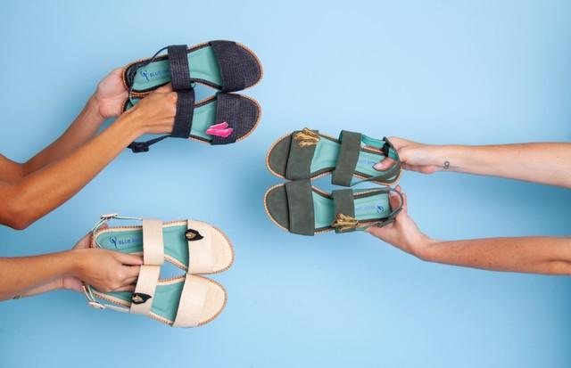 Camila Klein leva assinatura nos acessórios à parceria com a Blue Bird Shoes. (Foto: Divulgação)