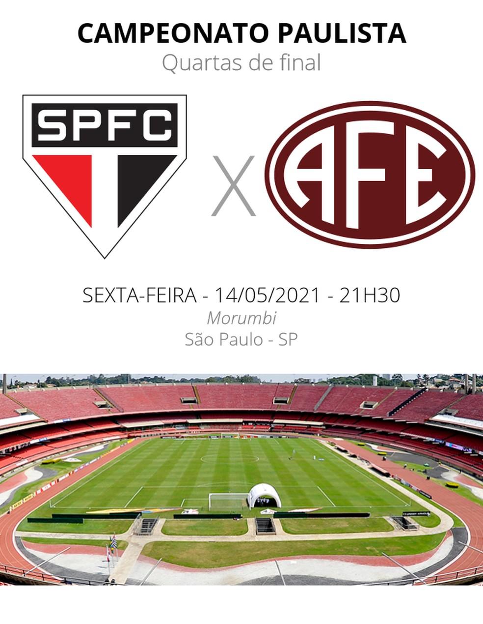 Sao Paulo X Ferroviaria Veja Onde Assistir Escalacoes Desfalques E Arbitragem Campeonato Paulista Ge