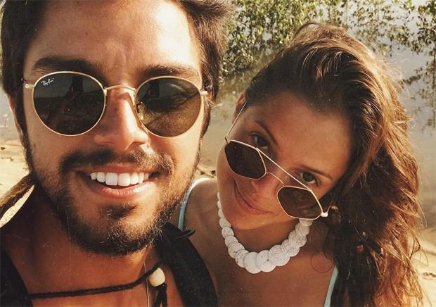 Rodrigo Simas e Ágatha Moreira (Foto: Reprodução / Instagram)