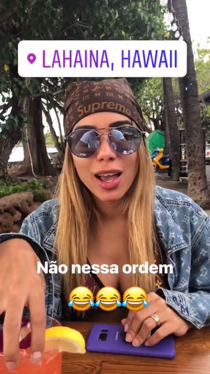 """Marido de Anitta chama cantora de """"loira 2"""" e cantora fica indignada (Foto: Reprodução/Instagram)"""
