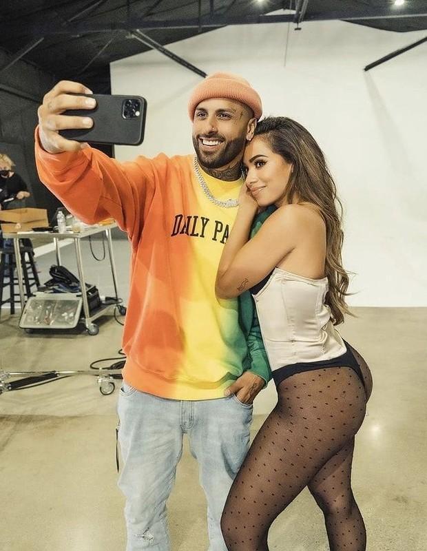 Nicky Jam e Anitta (Foto: Reprodução/Instagram)