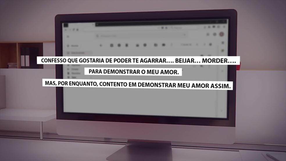 Mulheres dizem que foram assediadas também por e-mail pelo terapeuta Tadashi Kadomoto — Foto: Reprodução/TV Globo