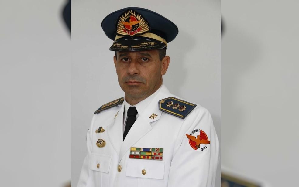Coronel Dewislon Adelino Mateus, comandante do Corpo de Bombeiros de Goiás — Foto: Divulgação