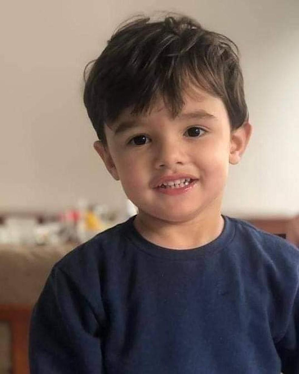 Gael de Freitas Nunes foi encontrado pela tia-avó já desacordado na cozinha do apartamento — Foto: Reprodução