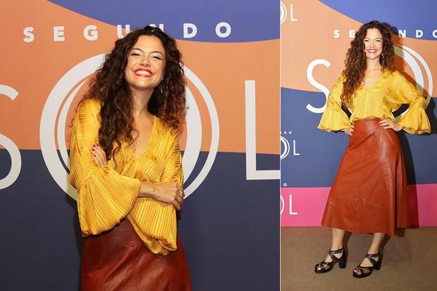 Carol Fazu (Foto: Daniel Janssens/ Ed.Globo)