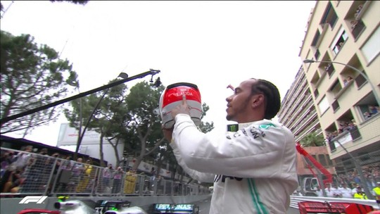 Lewis Hamilton vence GP de Mônaco e abre 17 pontos na liderança da Fórmula 1